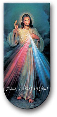Divine Mercy Chaplet Magnetic Book Mark - Unique Catholic Gifts