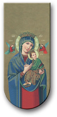 Our Lady of Perpetual Help Magnetic Bookmark - Unique Catholic Gifts