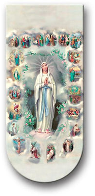 Mysteries of the Rosary Magnetic Bookmark - Unique Catholic Gifts