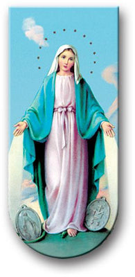 Our Lady of Grace Magnetic Book Mark - Unique Catholic Gifts