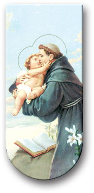 "Saint Anthony 3"" Magnetic Bookmark - Unique Catholic Gifts"