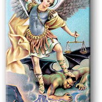"Saint Michael 3"" Magnetic Bookmark - Unique Catholic Gifts"