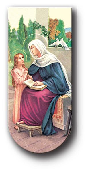 "Saint Anne 3"" Magnetic Bookmark - Unique Catholic Gifts"