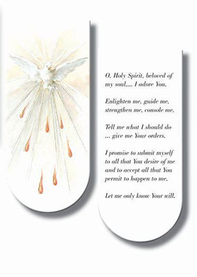 Holy Spirit Magnetic Bookmark - Unique Catholic Gifts