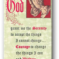 Serenity Prayer Magnetic Bookmark - Unique Catholic Gifts