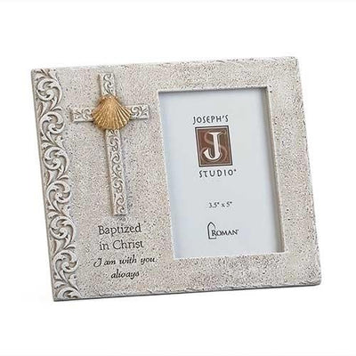 Baptized in Christ Picture Frame (6 1/2