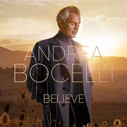 Believe Andrea Bocelli CD - Unique Catholic Gifts