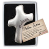 """Believe"" Palm Cross - Unique Catholic Gifts"