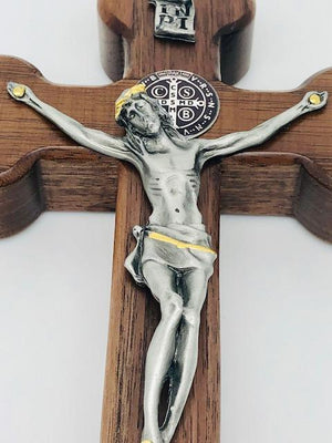 Saint Benedict Wall Crucifix (8