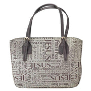 """Our Lord's Names"" Bible Cover /Purse (XL)"