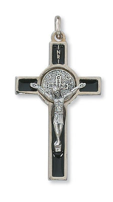 Black St. Benedict Crucifix (2