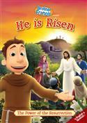 "Brother Francis ""He is Risen"" DVD (10) jmj - Unique Catholic Gifts"