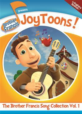 Brother Francis Joy Toons Song collection Vol 1 DVD - Unique Catholic Gifts