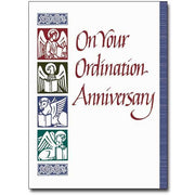 On Your Ordination Anniversary Greeting Card - Unique Catholic Gifts