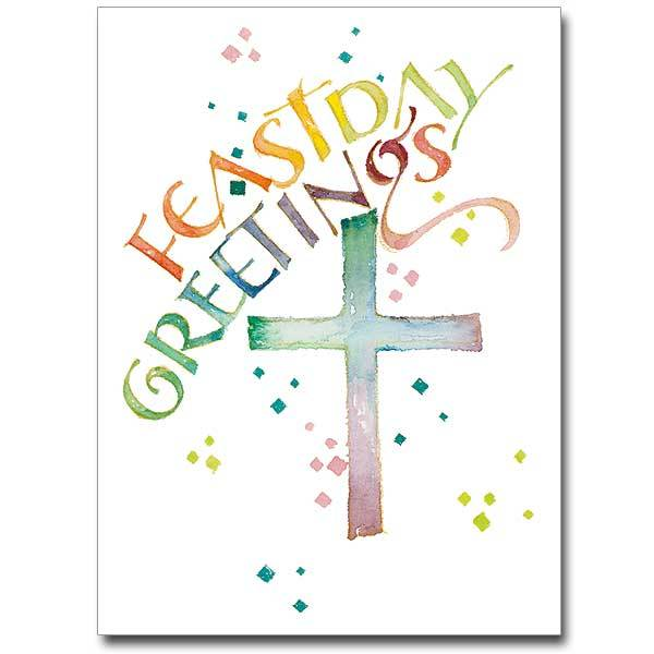 Feastday Greetings Feast Day Greeting Card - Unique Catholic Gifts