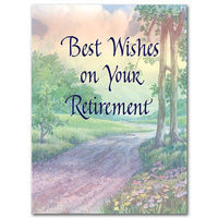 "Best Wishes on Your Retirement Retirement Card (4 3/4"" by 6"") - Unique Catholic Gifts"