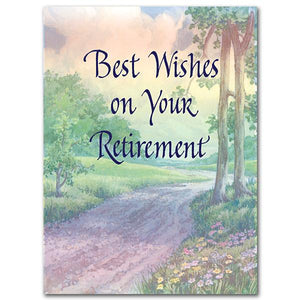 Best Wishes on Your Retirement Retirement Card - Unique Catholic Gifts