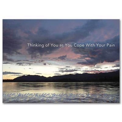 Thinking of You as You Cope with Your Pain Thinking of You