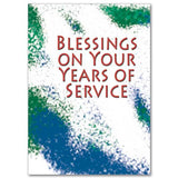 Blessings on Your Years of Service Retirement Card