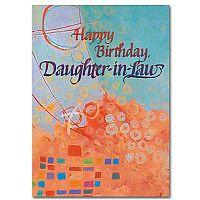 Happy Birthday Daughter-in-law Birthday Card