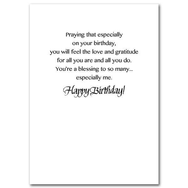 Happy Birthday Sister Card For