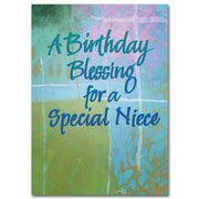 A Birthday Blessing for a Special Niece Family Blessings Birthday Card - Unique Catholic Gifts