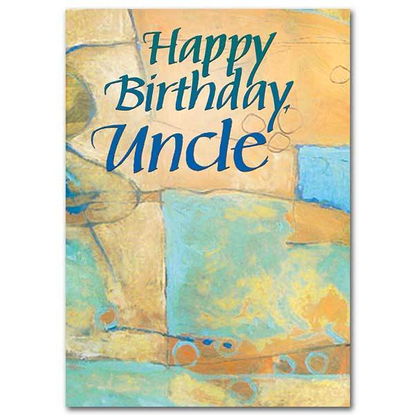 Happy Birthday Uncle Family Card