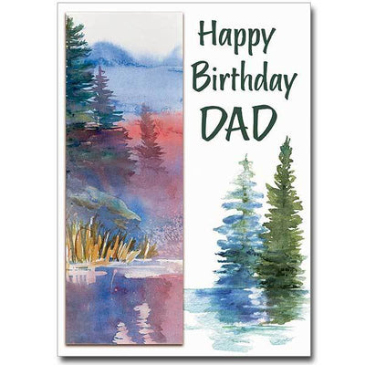 Happy Birthday Dad Birthday Card ( 5 x 7 )