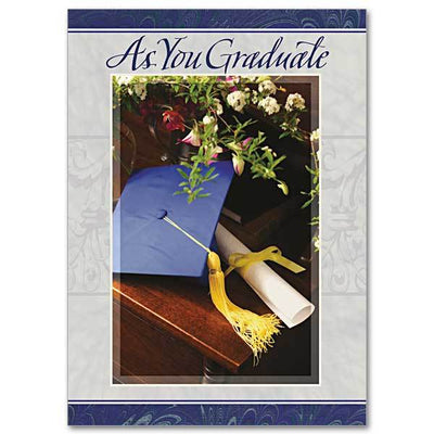 As You Graduate Graduation Card - Unique Catholic Gifts