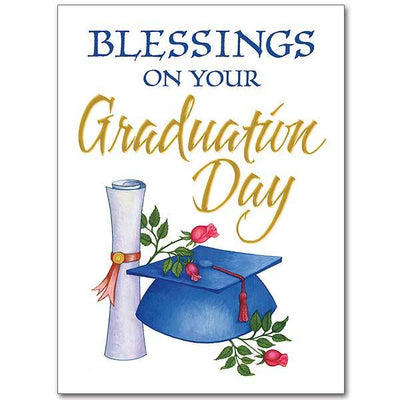 Blessings on Your Graduation Day Graduation Card