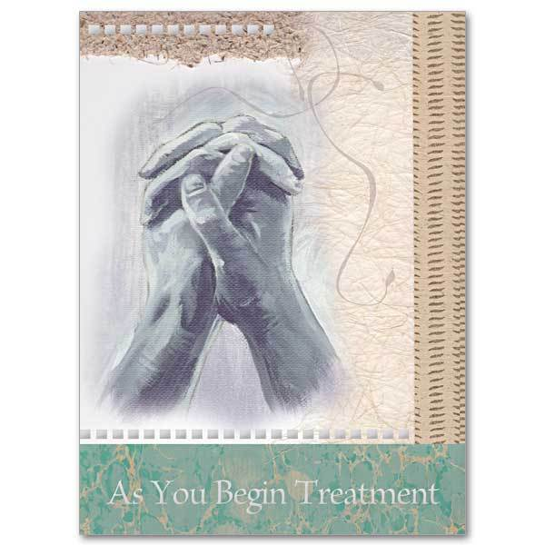 As You Begin Treatment Christian Care Card - Unique Catholic Gifts