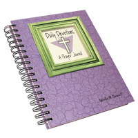 Daily Devotions - A Prayer Journal - Eggplant - Unique Catholic Gifts