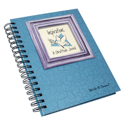 Inspirations - A Gratitude Journal - Light Blue