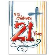 As You Celebrate 21 Years 21st Birthday Card