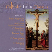 Catholic Latin Classics - CD - Unique Catholic Gifts
