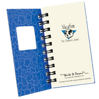 Product Details Vacation - The Traveler's Mini Journal - Blue - Unique Catholic Gifts