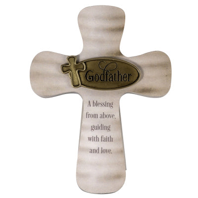 Catholic Godfather Blessing from Above Cross - Unique Catholic Gifts