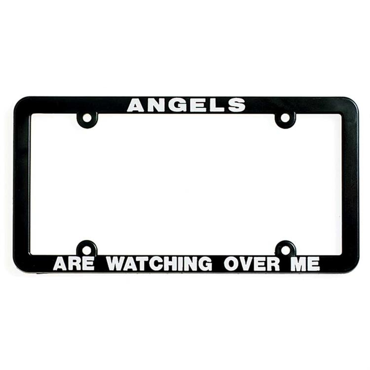 """Angels are Watching Over Me"" Automobile Licence Frame"
