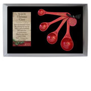 Christmas Cheer 4 Measuring Spoons. - Unique Catholic Gifts