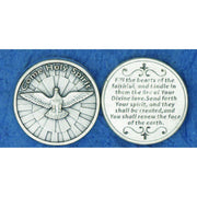 Come Holy Spirit Pocket Token Coin - Unique Catholic Gifts