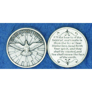 Come Holy Spirit Pocket Token