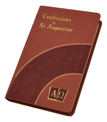 Confessions of St. Augustine (Burgundy) - Unique Catholic Gifts