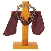 "Crown of Thorns Standing Cross (7 1/2"") - Unique Catholic Gifts"