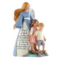 "Guardian Angel Prayer Statue 8"" - Unique Catholic Gifts"