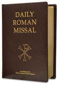 Daily Roman Missal, 7th Ed., Standard Print (Bonded Leather, Burgandy)