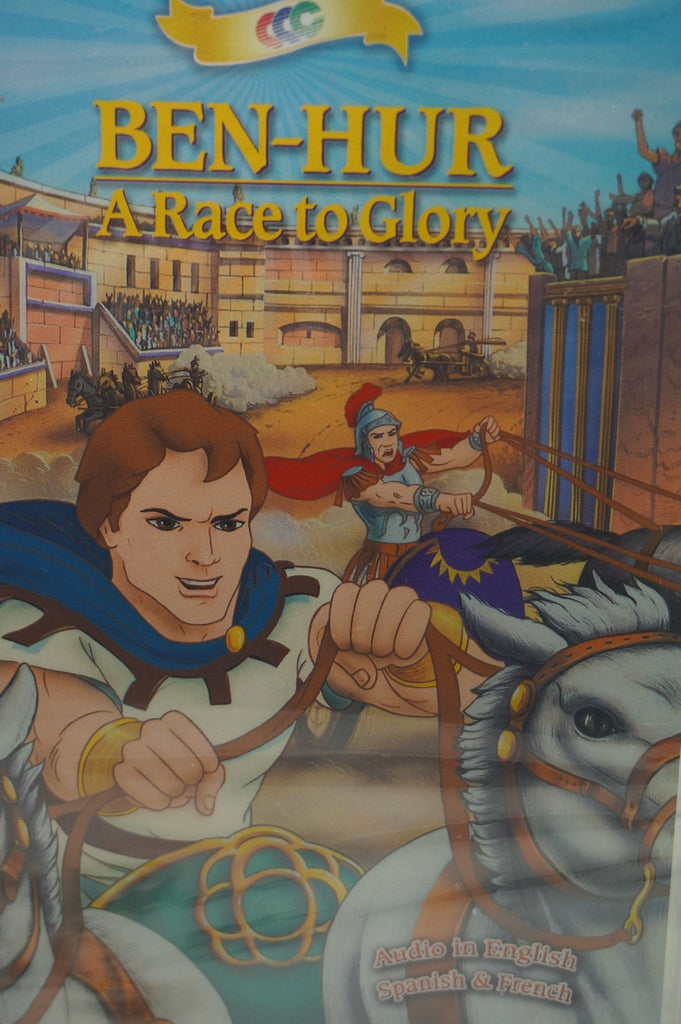 Ben-Hur  A Race to Glory Children's DVD jmj