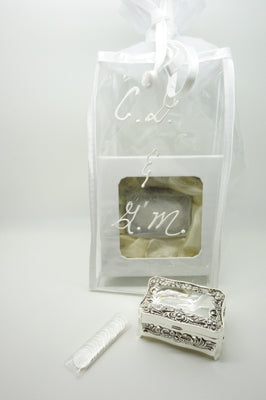 Personalized Gift Bag for Wedding Arras Box(heavy) and Wedding coins