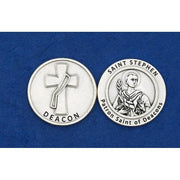 Deacon/St. Stephen Token Coin - Unique Catholic Gifts