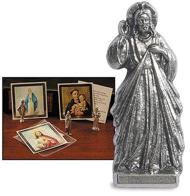 Divine Mercy Pocket Statue (1 1/2