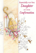 Especially for You Daughter on Your Confirmation Day Greeting Card - Unique Catholic Gifts